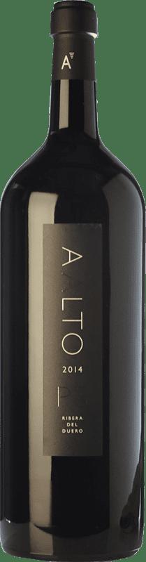 661,95 € Kostenloser Versand | Rotwein Aalto PS Reserva D.O. Ribera del Duero Kastilien und León Spanien Tempranillo Spezielle Flasche 5 L
