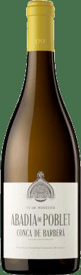 15,95 € Free Shipping   White wine Abadia de Poblet Blanc D.O. Conca de Barberà Catalonia Spain Macabeo, Parellada Bottle 75 cl