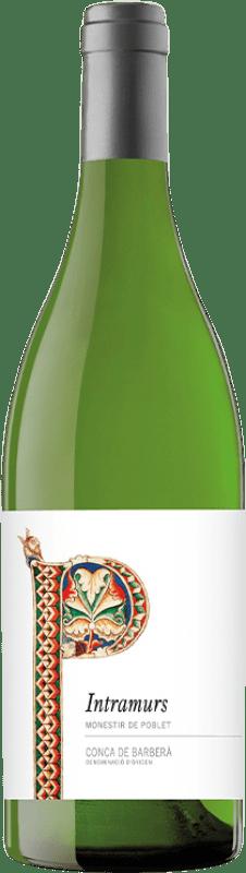 7,95 € Free Shipping   White wine Abadia de Poblet Intramurs Blanc D.O. Conca de Barberà Catalonia Spain Chardonnay Bottle 75 cl