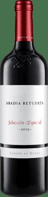18,95 € Бесплатная доставка | Красное вино Abadía Retuerta Selección Especial Crianza I.G.P. Vino de la Tierra de Castilla y León Кастилия-Леон Испания Tempranillo, Syrah, Cabernet Sauvignon бутылка 75 cl | Тысячи любителей вина уверены, что у нас гарантирована лучшая цена, всегда поставляются бесплатно и покупают и возвращают без осложнений.
