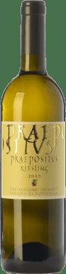 28,95 € Free Shipping | White wine Abbazia di Novacella Praepositus D.O.C. Alto Adige Trentino-Alto Adige Italy Riesling Bottle 75 cl