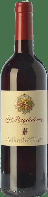 11,95 € Free Shipping | Red wine Abbazia di Novacella Santa Maddalena D.O.C. Alto Adige Trentino-Alto Adige Italy Schiava Bottle 75 cl