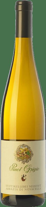 12,95 € Free Shipping | White wine Abbazia di Novacella D.O.C. Alto Adige Trentino-Alto Adige Italy Pinot Grey Bottle 75 cl