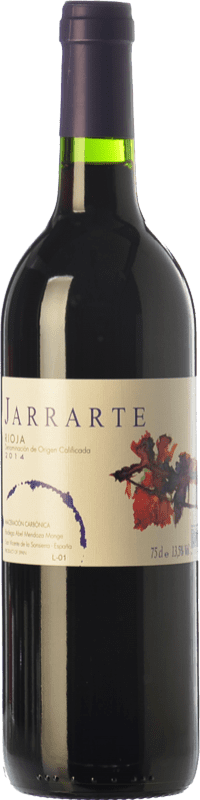 6,95 € Free Shipping | Red wine Abel Mendoza Jarrarte Joven D.O.Ca. Rioja The Rioja Spain Tempranillo Bottle 75 cl