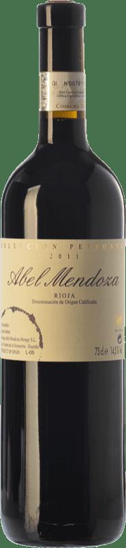 29,95 € Free Shipping | Red wine Abel Mendoza Selección Personal Crianza D.O.Ca. Rioja The Rioja Spain Tempranillo Bottle 75 cl