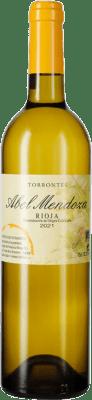 21,95 € Free Shipping | White wine Abel Mendoza Crianza D.O.Ca. Rioja The Rioja Spain Torrontés Bottle 75 cl