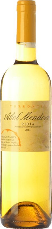 21,95 € Envoi gratuit | Vin blanc Abel Mendoza Crianza D.O.Ca. Rioja La Rioja Espagne Torrontés Bouteille 75 cl