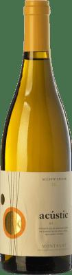 11,95 € Envío gratis | Vino blanco Acústic Blanc Crianza D.O. Montsant Cataluña España Garnacha Blanca, Garnacha Gris, Macabeo, Xarel·lo Botella 75 cl