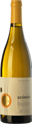 14,95 € Free Shipping | White wine Acústic Blanc Crianza D.O. Montsant Catalonia Spain Grenache White, Grenache Grey, Macabeo, Xarel·lo Bottle 75 cl