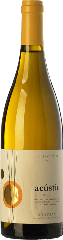 11,95 € Free Shipping   White wine Acústic Blanc Crianza D.O. Montsant Catalonia Spain Grenache White, Grenache Grey, Macabeo, Xarel·lo Bottle 75 cl