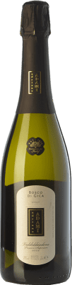 11,95 € Free Shipping | White sparkling Adami Bosco di Gica Brut D.O.C.G. Prosecco di Conegliano-Valdobbiadene Treviso Italy Chardonnay, Glera Bottle 75 cl. | Thousands of wine lovers trust us to get the best price guarantee, free shipping always and hassle-free shopping and returns.