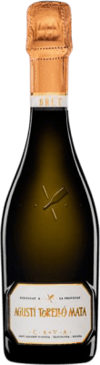 9,95 € Free Shipping | White sparkling Agustí Torelló Brut Reserva D.O. Cava Catalonia Spain Macabeo, Xarel·lo, Parellada Half Bottle 37 cl | Thousands of wine lovers trust us to get the best price guarantee, free shipping always and hassle-free shopping and returns.
