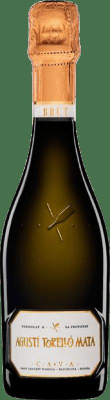 9,95 € Free Shipping | White sparkling Agustí Torelló Brut Reserva D.O. Cava Catalonia Spain Macabeo, Xarel·lo, Parellada Half Bottle 37 cl