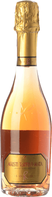 18,95 € Free Shipping | Rosé sparkling Agustí Torelló Solid Rosat Joven D.O. Cava Catalonia Spain Trepat Half Bottle 37 cl