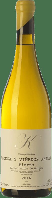 24,95 € Free Shipping | White wine Akilia K D.O. Bierzo Castilla y León Spain Palomino Fino, Doña Blanca Bottle 75 cl