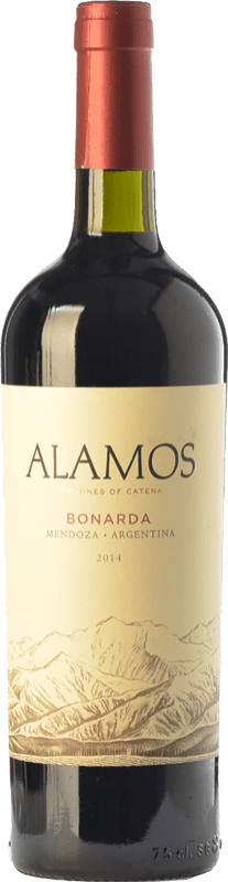 8,95 € Envoi gratuit | Vin rouge Alamos Joven I.G. Mendoza Mendoza Argentine Bonarda Bouteille 75 cl