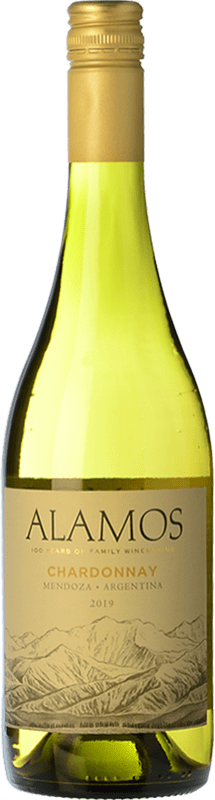 7,95 € Envoi gratuit | Vin blanc Alamos Crianza I.G. Mendoza Mendoza Argentine Chardonnay Bouteille 75 cl