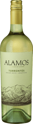 7,95 € Envío gratis   Vino blanco Alamos I.G. Mendoza Mendoza Argentina Torrontés Botella 75 cl