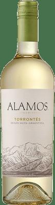 9,95 € Free Shipping | White wine Alamos I.G. Mendoza Mendoza Argentina Torrontés Bottle 75 cl