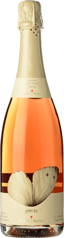 15,95 € Envoi gratuit | Blanc moussant Albet i Noya Brut Reserva D.O. Penedès Catalogne Espagne Pinot Noir Bouteille 75 cl