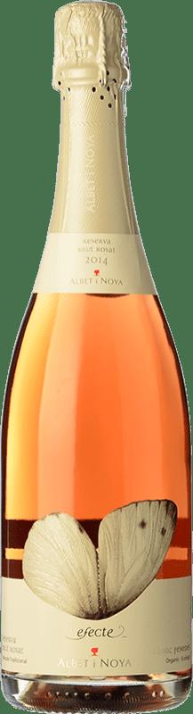 15,95 € Free Shipping | White sparkling Albet i Noya Brut Reserva 2011 D.O. Penedès Catalonia Spain Pinot Black Bottle 75 cl