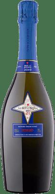 18,95 € Kostenloser Versand | Weißer Sekt Albet i Noya 21 Brut Reserva D.O. Penedès Katalonien Spanien Chardonnay, Parellada Flasche 75 cl