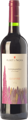 7,95 € Free Shipping | Red wine Albet i Noya Curiós Joven D.O. Penedès Catalonia Spain Tempranillo Bottle 75 cl