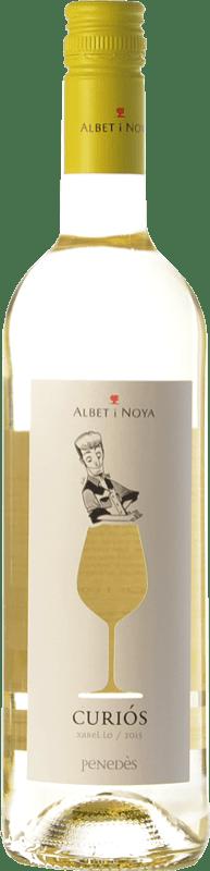 7,95 € Envoi gratuit | Vin blanc Albet i Noya Curiós D.O. Penedès Catalogne Espagne Xarel·lo Bouteille 75 cl