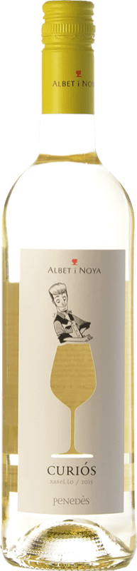 8,95 € Free Shipping | White wine Albet i Noya Curiós D.O. Penedès Catalonia Spain Xarel·lo Bottle 75 cl