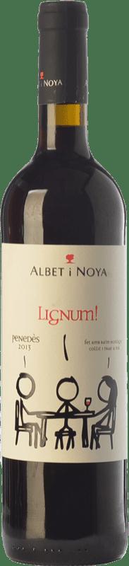 8,95 € Envoi gratuit | Vin rouge Albet i Noya Lignum Negre Crianza D.O. Penedès Catalogne Espagne Tempranillo, Merlot, Syrah, Grenache, Cabernet Sauvignon Bouteille 75 cl