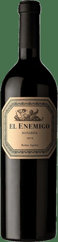 24,95 € Envío gratis | Vino tinto Aleanna El Enemigo Bonarda Crianza I.G. Mendoza Mendoza Argentina Cabernet Franc, Bonarda Botella 75 cl
