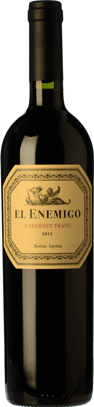 22,95 € Envío gratis | Vino tinto Aleanna El Enemigo Cabernet Franc Crianza I.G. Mendoza Mendoza Argentina Cabernet Franc, Malbec Botella 75 cl