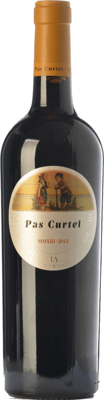 13,95 € Free Shipping | Red wine Alemany i Corrió Pas Curtei Crianza D.O. Penedès Catalonia Spain Merlot, Cabernet Sauvignon, Carignan Bottle 75 cl
