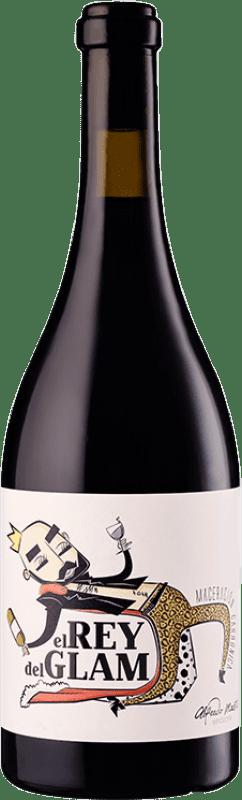 8,95 € Envío gratis | Vino tinto Maestro Tejero El Rey del Glam Joven I.G.P. Vino de la Tierra de Castilla y León Castilla y León España Garnacha Botella 75 cl