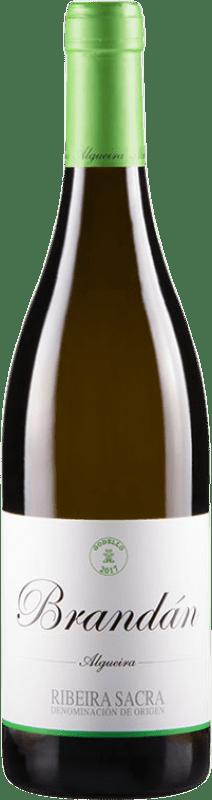 13,95 € Envoi gratuit | Vin blanc Algueira Brandan D.O. Ribeira Sacra Galice Espagne Godello Bouteille 75 cl