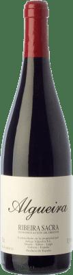 26,95 € Free Shipping | Red wine Algueira Carravel Crianza D.O. Ribeira Sacra Galicia Spain Mencía Bottle 75 cl