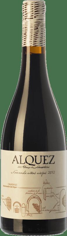 9,95 € Envío gratis | Vino tinto Garapiteros Alquez Crianza D.O. Calatayud Aragón España Garnacha Botella 75 cl