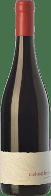 14,95 € Free Shipping | Red wine Almaroja Cielos & Besos Joven D.O. Arribes Castilla y León Spain Tempranillo, Rufete, Juan García Bottle 75 cl
