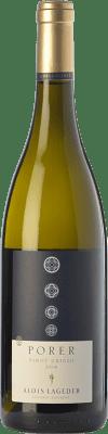 25,95 € Free Shipping | White wine Lageder Pinot Grigio Porer D.O.C. Alto Adige Trentino-Alto Adige Italy Pinot Grey Bottle 75 cl