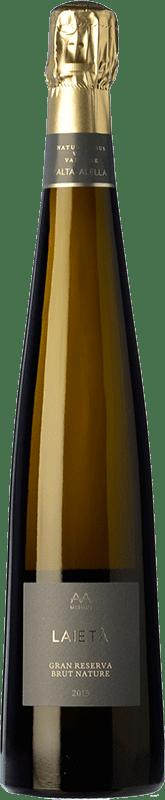 21,95 € Free Shipping | White sparkling Alta Alella AA Mirgin Laietà Gran Reserva D.O. Cava Catalonia Spain Chardonnay Bottle 75 cl
