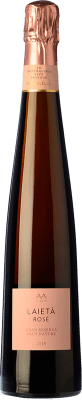 19,95 € Free Shipping | Rosé sparkling Alta Alella AA Mirgin Laietà Rosé Gran Reserva D.O. Cava Catalonia Spain Mataró Bottle 75 cl | Thousands of wine lovers trust us to get the best price guarantee, free shipping always and hassle-free shopping and returns.