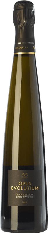 23,95 € Free Shipping | White sparkling Alta Alella AA Mirgin Opus Evolutium Gran Reserva D.O. Alella Catalonia Spain Pinot Black, Chardonnay Bottle 75 cl