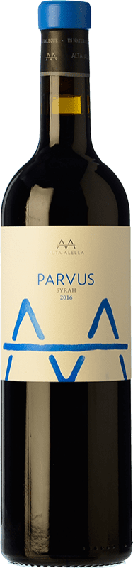 14,95 € Free Shipping | Red wine Alta Alella AA Parvus Crianza D.O. Alella Catalonia Spain Syrah Bottle 75 cl
