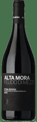 57,95 € Free Shipping | Red wine Alta Mora Rosso Feudo di Mezzo D.O.C. Etna Sicily Italy Nerello Mascalese Bottle 75 cl