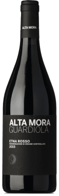 61,95 € Free Shipping | Red wine Alta Mora Rosso Guardiola D.O.C. Etna Sicily Italy Nerello Mascalese Bottle 75 cl
