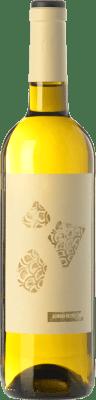 6,95 € Envío gratis | Vino blanco Altavins Petit Almodí Blanc D.O. Terra Alta Cataluña España Garnacha Blanca, Moscatel, Macabeo Botella 75 cl