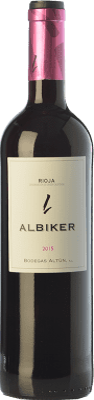 9,95 € Free Shipping | Red wine Altún Albiker Joven D.O.Ca. Rioja The Rioja Spain Tempranillo, Viura Bottle 75 cl