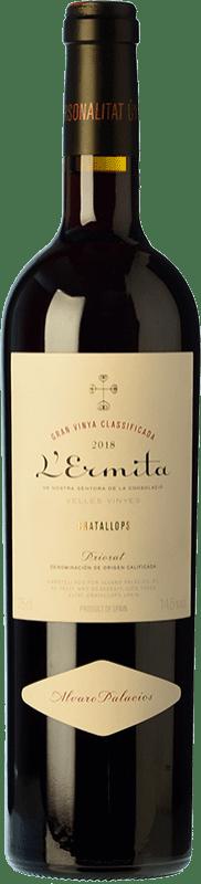 1 081,95 € Free Shipping | Red wine Álvaro Palacios L'Ermita Crianza D.O.Ca. Priorat Catalonia Spain Grenache, Carignan Bottle 75 cl