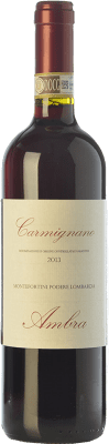 17,95 € Free Shipping | Red wine Ambra Montefortini D.O.C.G. Carmignano Tuscany Italy Cabernet Sauvignon, Sangiovese, Canaiolo Bottle 75 cl