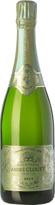 64,95 € Free Shipping | White sparkling André Clouet Dream Vintage Grand Cru 2008 A.O.C. Champagne Champagne France Chardonnay Bottle 75 cl | Thousands of wine lovers trust us to get the best price guarantee, free shipping always and hassle-free shopping and returns.